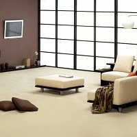 Lusotufo Ompacto wool carpet